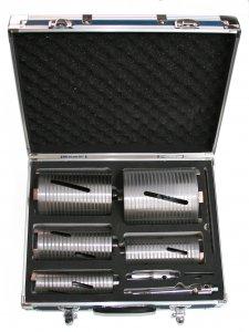 Diamant-Bohrkronen-Set BBT5552255  3D  11-tlg.