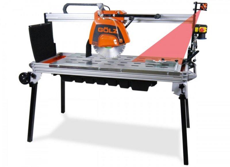 Tischsäge GÖLZ GS350A-120 incl. Diamant-Trennscheibe