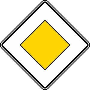 Vorfahrtzeichen