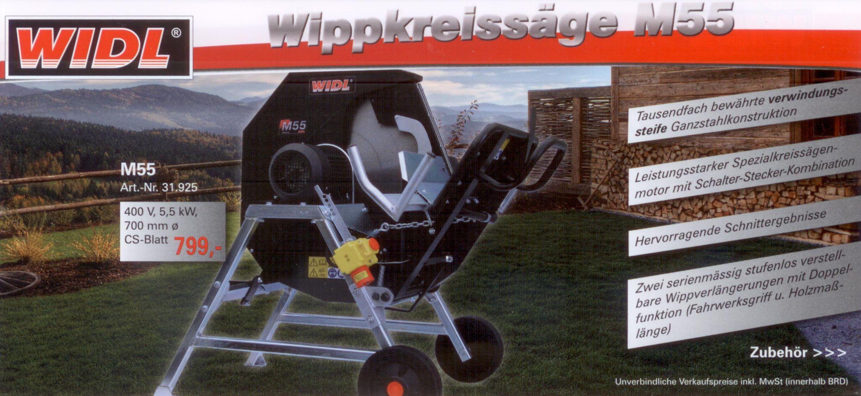 WIDL Wippkreissäge M55