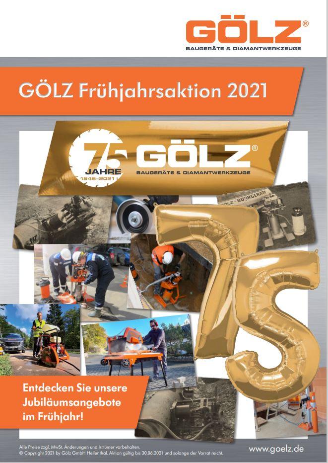 GÖLZ Frühjahrsaktion 2021